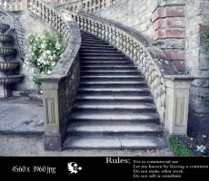 ancient stairs by celairen-stock