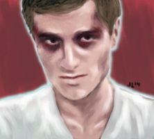 Hijacked Peeta by jlajuett