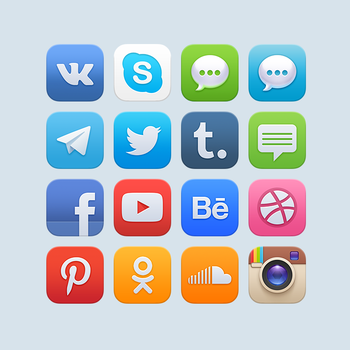 Preview of new icons by Ampeross