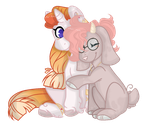 l + C + l Blazing Star and Strawberry Cappuccino by Mintoria
