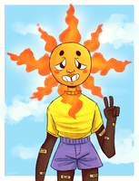 [AT] Literally a Tiny Sun??? by millennialSpectrum