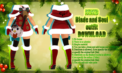 [MMD] Blade and Soul - outfit - DOWNLOAD by MaiMami