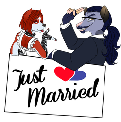 Just Married by AlexDealey
