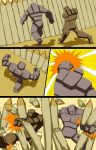 Mike into Golem TF Comic page 27 by whiteguardian