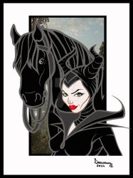 24.Malefica y el Caballo (Maleficent) by Rob32