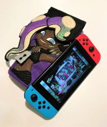 Splatoon Marina - Switch Case by kdaesung
