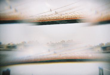 Brooklyn in Color: Double Vision, I by neuroplasticcreative