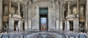 Brussels Palace of Justice by DDr3ams