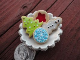 Christmas Cookie Plate Pendant by Stargatesg11