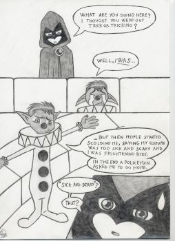 IT Scares Raven pg 2 by Ludra90