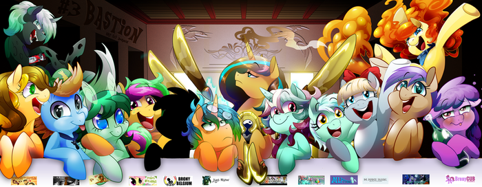affiche speciale Bastion Brony 3  edition 2016 by Dormin-Kanna