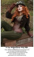 Steampunk Lady Stock 003 by MADmoiselleMeliStock