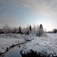 Cold River by Petritap