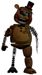 Withered Toy Freddy (my version) by AgentPrime