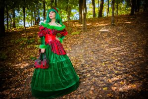 Red and green :) by 13-Melissa-Salvatore