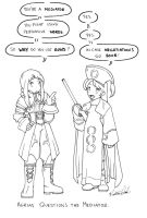 :Agrias vs. Mediator: by Karmada