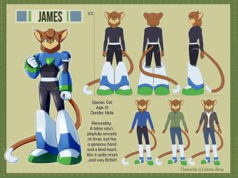 James Reference Sheet by metalhime