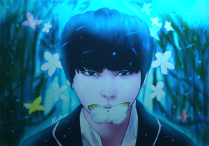 Suga Wings Tour (+Speedpaint) by MissBrutus