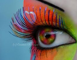. tequila sunrise . by Countess-Grotesque