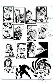 Avengers Assemble #9 tryout page 10 by 122476