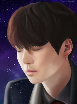 Suga: The voice by LastWhalien
