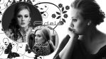 Wallpaper Adele by xtessie