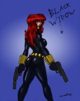Black Widow by Nomingzombie