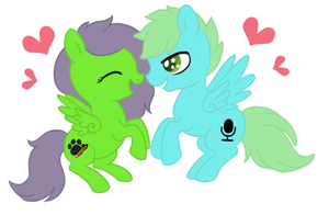 (CM) Smol Pone Couple by LuckyKitzy