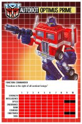 Transformers Top Trumps 1 by PWThomas