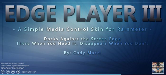Edge Player 3.0 by CodyMacri