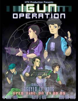 iGun Operation Official Poster by splendidriver