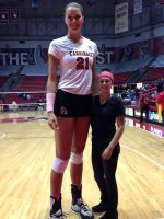 Tall Volleyball player compare (BSU) by lowerrider