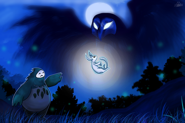 The tale of Ori and the blind forest by 2wolfan