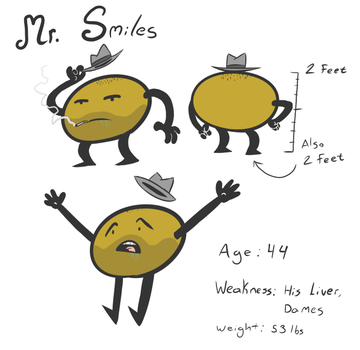 Walking City Ref - Mr. Smiles by Qyzex