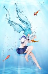 Bottle Miku - Fish time by UzumeCosplay