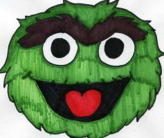 Oscar the Grouch by AliceLovesChes