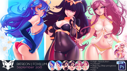 Patreon September 2018 by Foxilumi