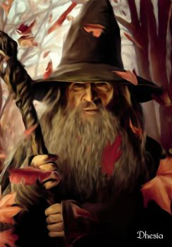 Gandalf by Dhesia