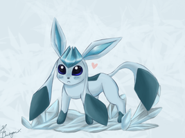 Glaceon by Copyplier