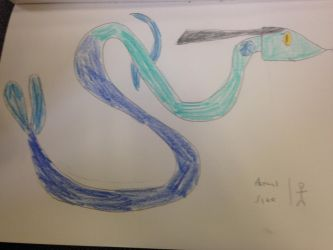 Shelly the Sea Serpent by annonmyous
