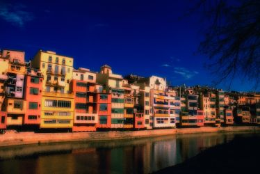 Colored houses by LabelaArt