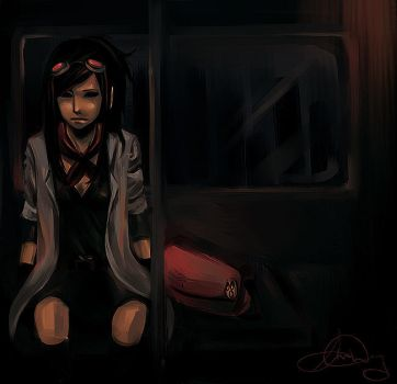 princess of a downtown train by sulfoxides