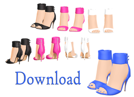 DOWNLOAD: Shoes - Heels Style 1 by DisastrousBunny