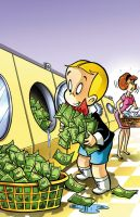 Richie Rich classic cover colors 14 by DustinEvans