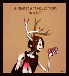 A terrible thing by Leaglem