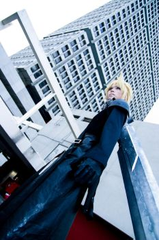Final Fantasy VII AC - Cloud by Xeno-Photography