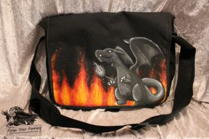 Custom Charizard Shoulder Bag by Forge-Your-Fantasy