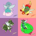 The Succulent sisters by Arkalarts