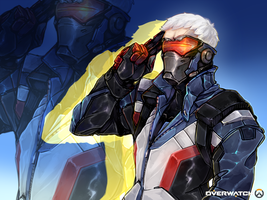 Overwatch | Soldier76 by Reiki-kun
