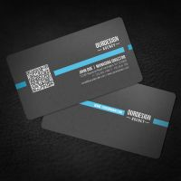 Rounded Corner QR Code Business Card by glenngoh
